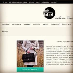 Wasze opinie o naszych produktach nowa zakadka na wwwfeltlabelpl zapraszamyhellip