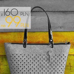 VesnaShopper tylko dzisiaj w obnionej cenie na wwwfeltlabelpl wwwfeltlabelpl VesnaShopperhellip
