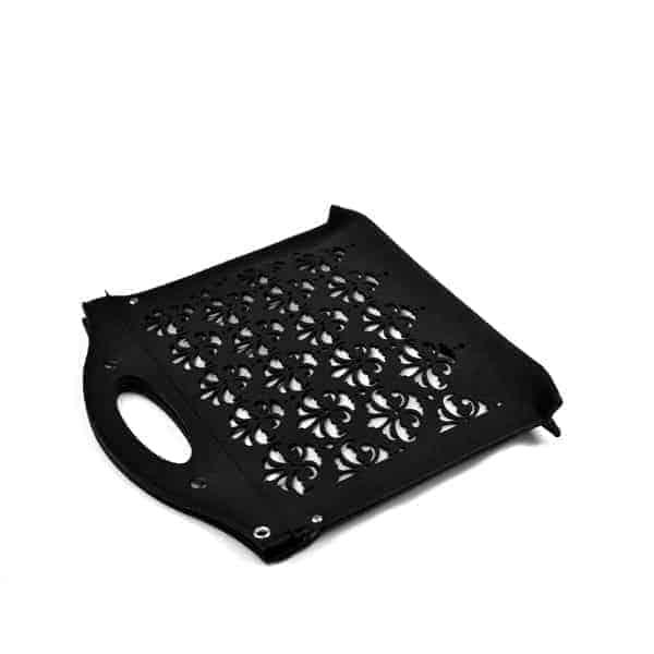 czarna filcowa torebka BlackPattern