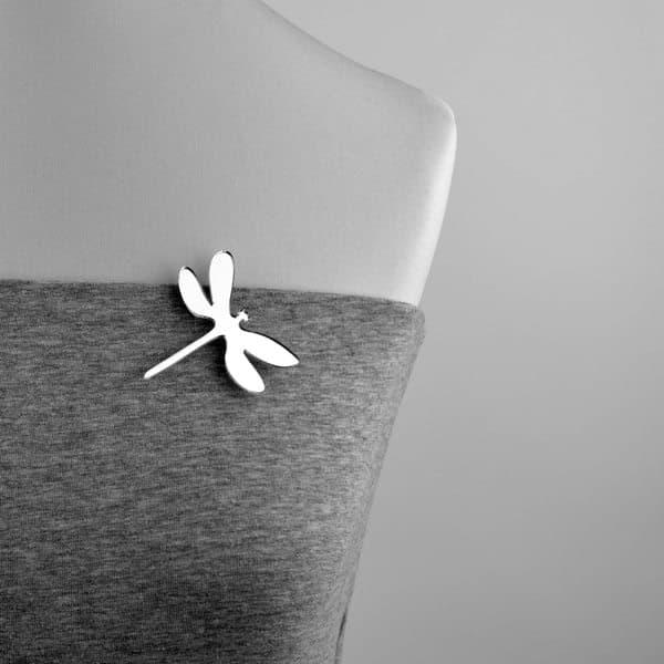 broszka plastikowa ważka