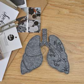 filcowe płuca do dekoracji