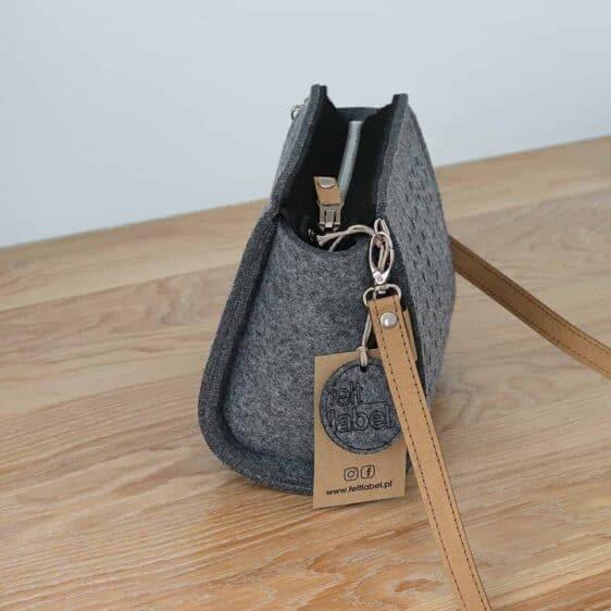 Filcowa torebka ZipperPocket