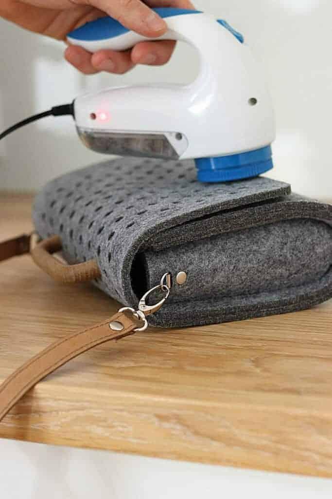 Golarka do torebek filcowych